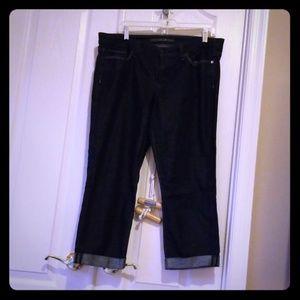Joe's Jeans cropped denim